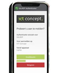 SSLRDP Authenticator app